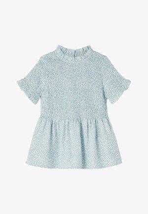 NKFDORAR - T-shirt print - dusty blue