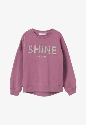 JOIA - Sweater - licht/pastelpaars