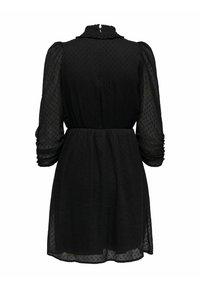 ONLY - LOCKER GESCHNITTENES - Day dress - black - 6