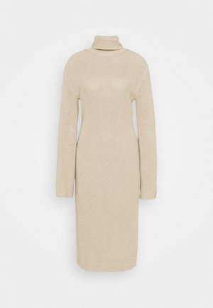 HEAVY DRESS - Jumper dress - light beige