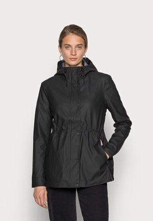 WOMENS LIGHTWEIGHT RUBBERISED JACKET - Summer jacket - black