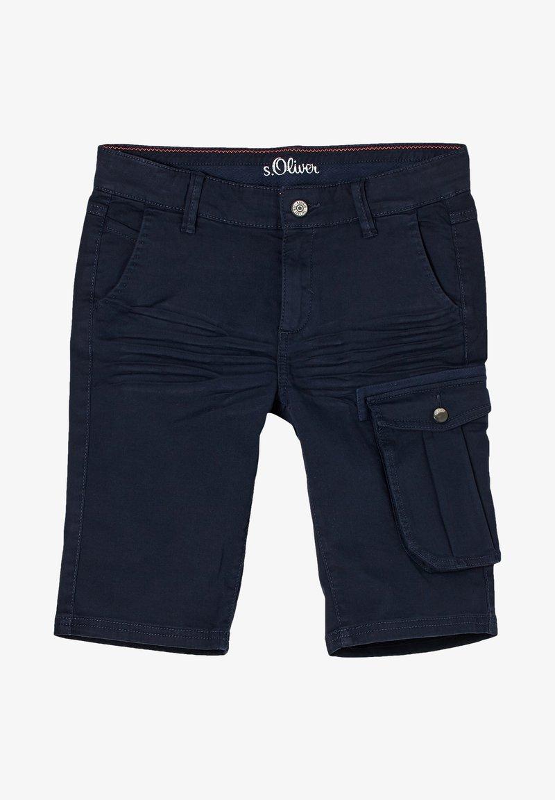 s.Oliver - Shorts - blue