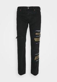 Diesel - Jeans Tapered Fit - black - 0