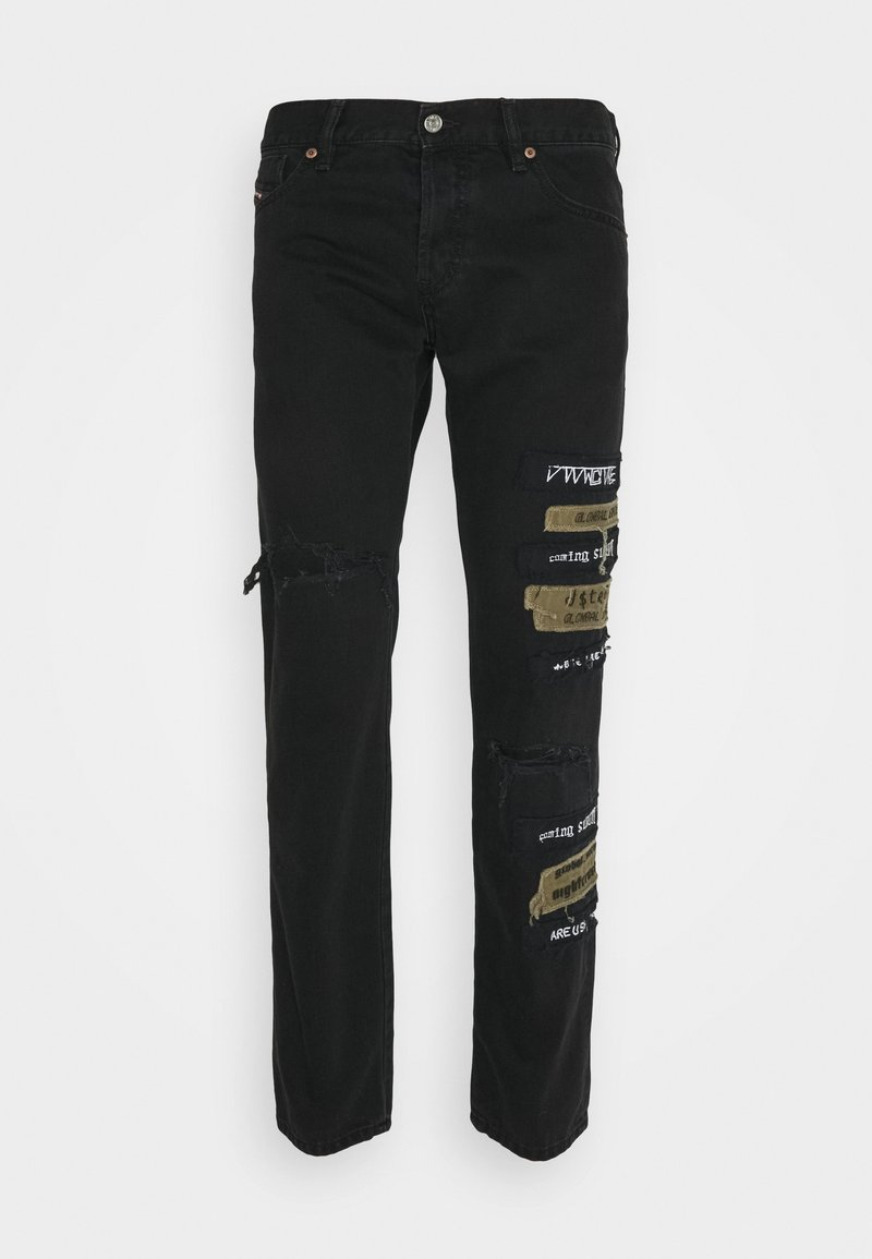 Diesel - Jeans Tapered Fit - black