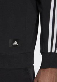 adidas Performance - CREW MUST HAVES SPORTS PULLOVER - Felpa - black - 4
