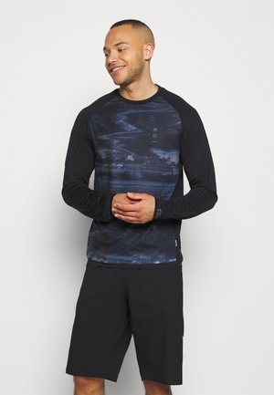 TEE TRAZE - Long sleeved top - black