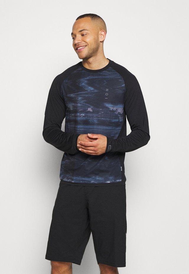 TEE TRAZE - Langærmede T-shirts - black