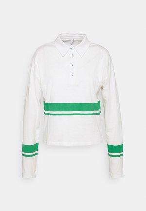 ONLLIMA - Poloshirts - white/green