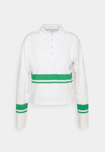 ONLLIMA - Polotričko - white/green