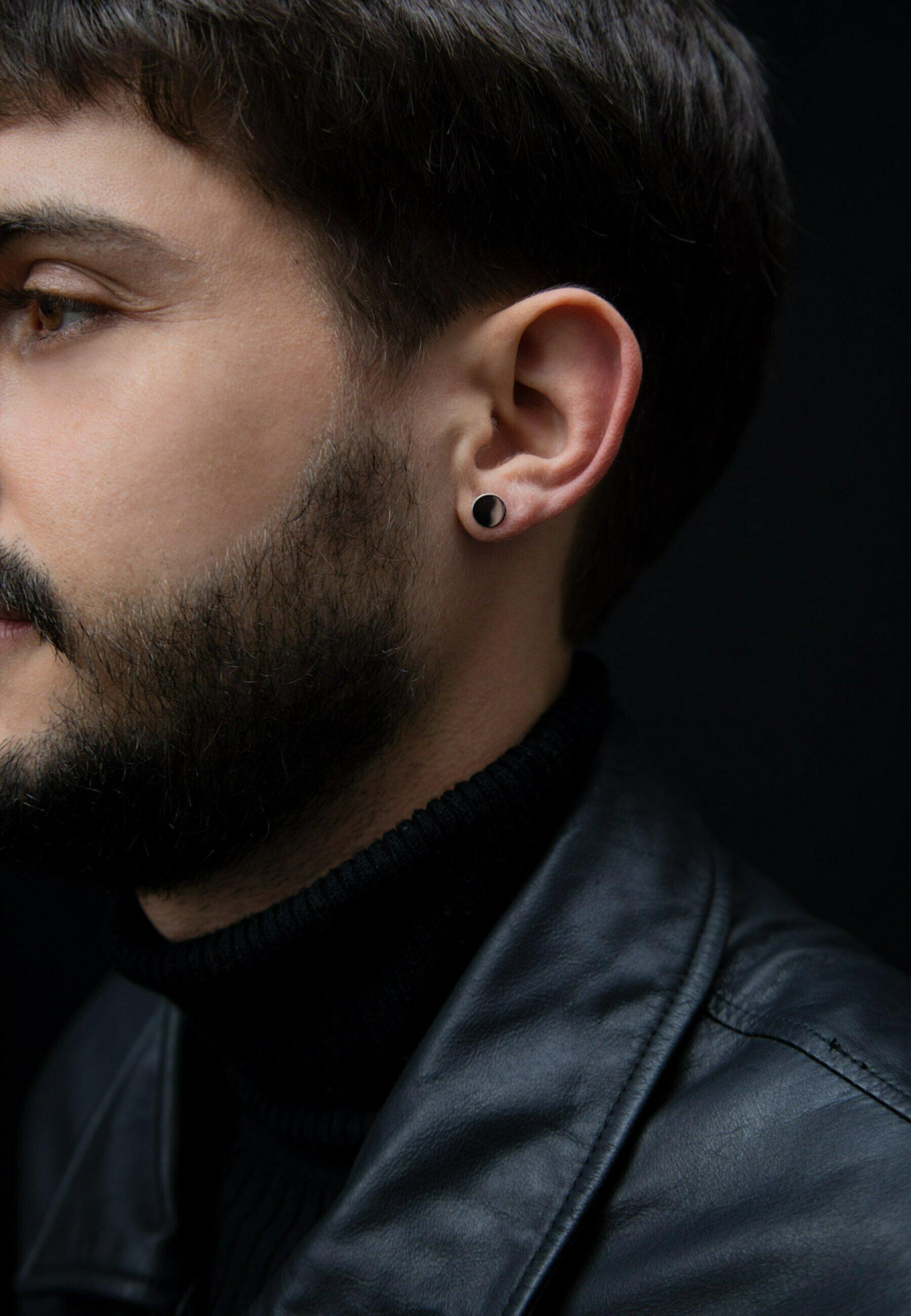 Homme CIRCLE MINI - Boucles d'oreilles