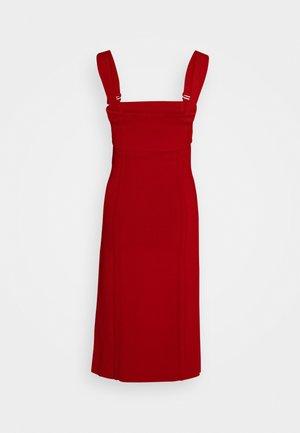 COMPACT TANK DRESS - Etui-jurk - scarlet