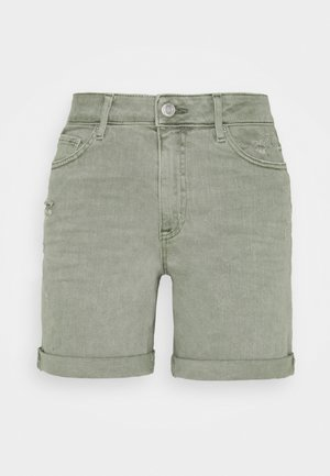 BOYFRIEND - Denim shorts - khaki