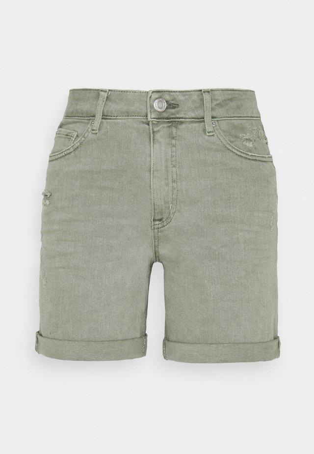 BOYFRIEND - Jeansshort - khaki