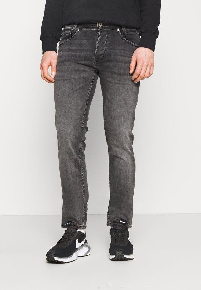 SPIKE - Straight leg jeans - grey denim