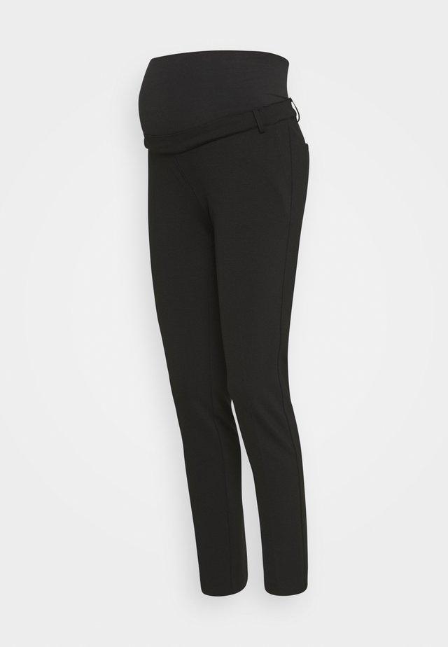 FILETTI MAGLIA - Trousers - black