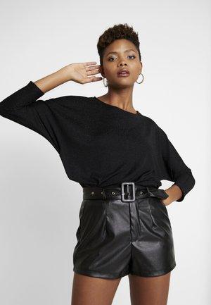 JDYFREI - Bluzka z długim rękawem - black