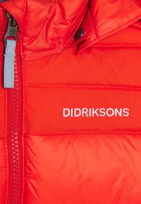 Didriksons - DIGORY KIDS - Winter jacket - poppy red - 6