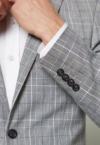 Lindbergh - CHECKED SUIT - Oblek - grey check - 10