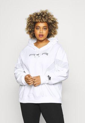 AIR HOODIE PLUS - Sweatshirt - white