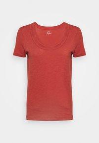 VINTAGE SCOOP - T-shirt basic - rock red