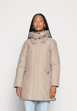 Down coat - light taupe