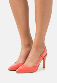 ONLY SHOES - ONLPEACHES SLING BACK - High heels - coral - 0