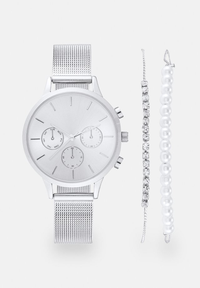 SET - Uhr - silver-coloured