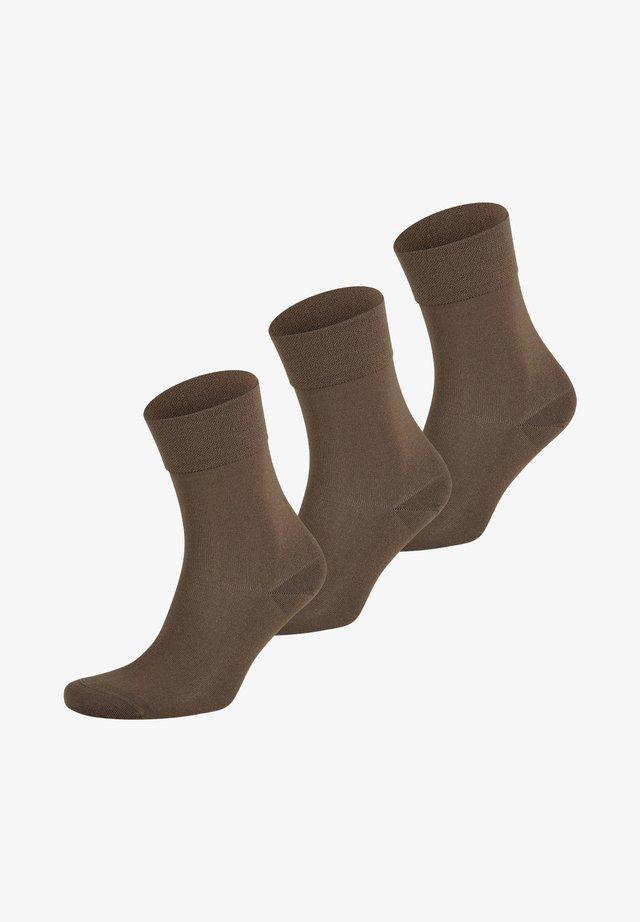 3 PACK - Sokken - dark taupe