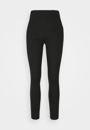 PUNTI - Leggings - Trousers - black