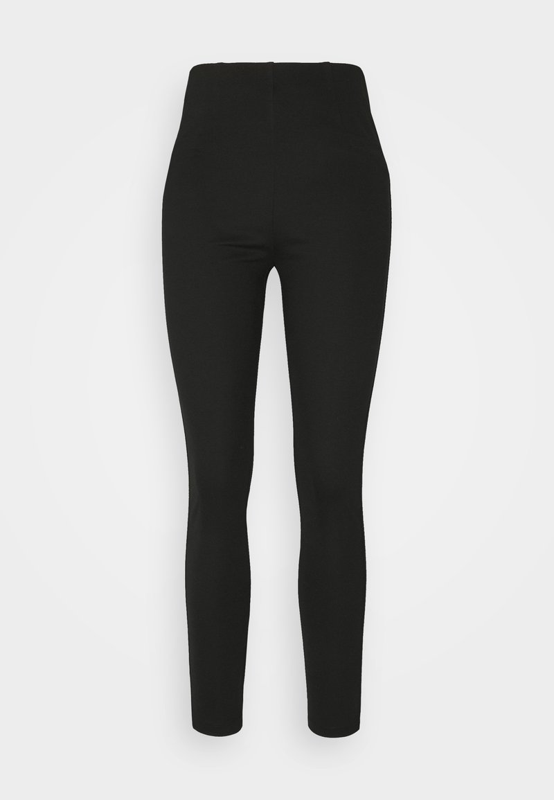 edc by Esprit - PUNTI - Leggings - Trousers - black
