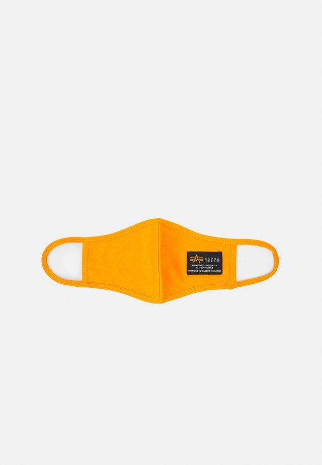 CREW FACE MASK UNISEX - Maschera in tessuto - flame orange