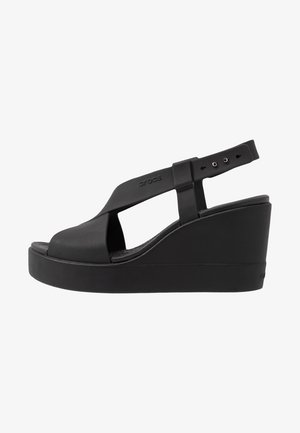 BROOKLYN HIGH - Pantoffels - black