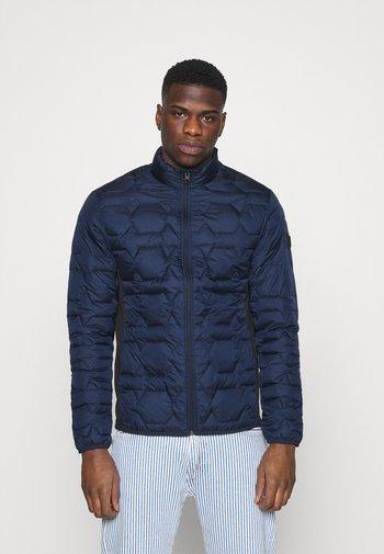 JCOBOOM TWIST PUFFER - Light jacket - navy blazer