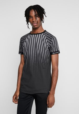 TIMES  - T-shirt con stampa - black