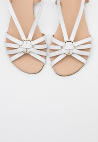 Anna Field - LEATHER - Sandals - white - 5