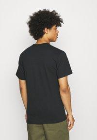 HUF - FEELS TEE - Print T-shirt - black - 2