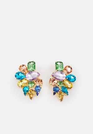 PCLEA EARRINGS - Earrings - gold-coloured/ multi