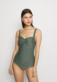 LASCANA - SWIMSUIT - Swimsuit - olive - 0