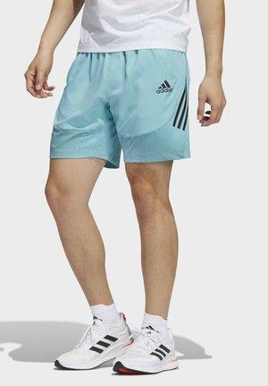 AERO  - Korte sportsbukser - blue