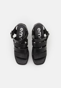 Emmshu - DITA - Platform sandals - black - 5