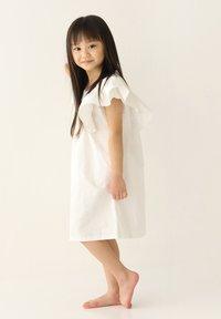 Rora - Korte jurk - white - 4