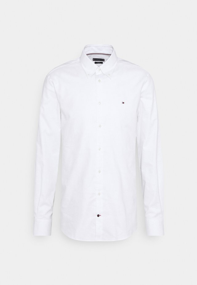 OXFORD SLIM FIT - Finskjorte - white
