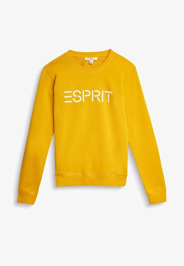 FASHION - Sweatshirt - amber yellow