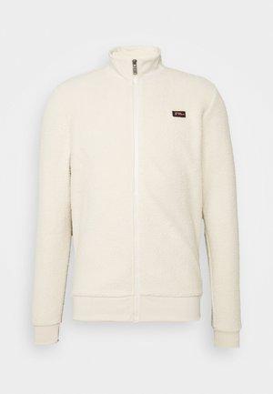 Fleece jacket - chalk white