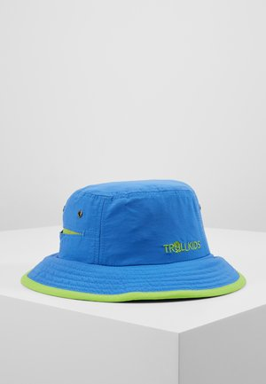 KIDS TROLLFJORD HAT - Hut - medium blue/light green