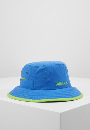 KIDS TROLLFJORD HAT - Cappello - medium blue/light green