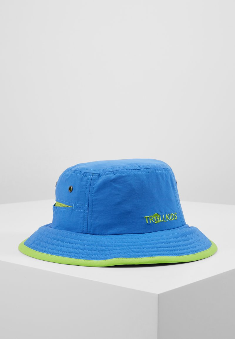 TrollKids - KIDS TROLLFJORD HAT - Hat - medium blue/light green
