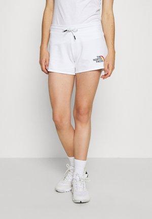 RAINBOW SHORT - Short de sport - white
