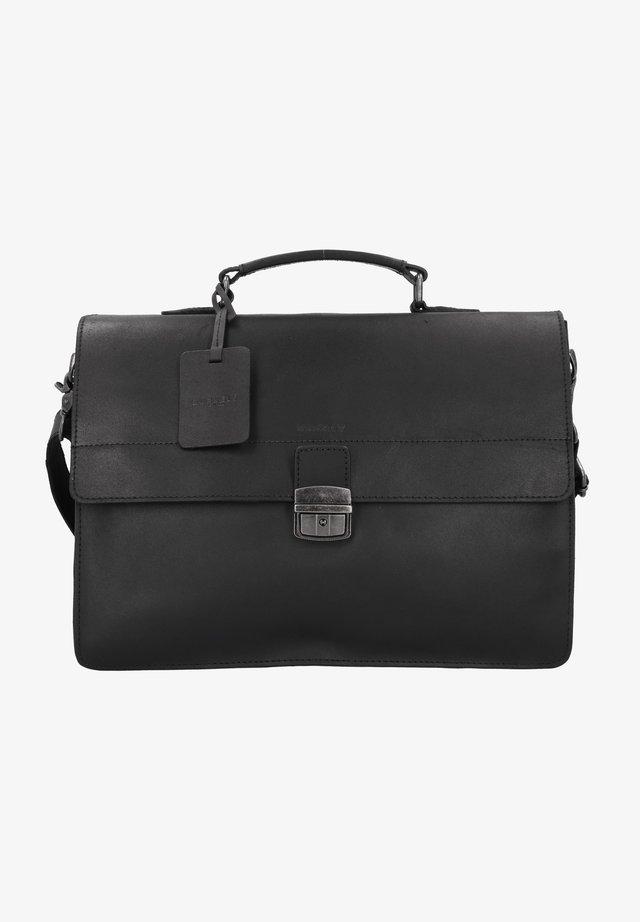 VINTAGE DEAN - Briefcase - black