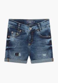 Blue Effect - GIRLS HEAVY - Denim shorts - blue denim - 0
